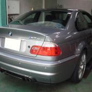 BMW/CSL オイル交換