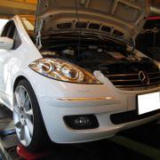 BENZ/W220 車検整備