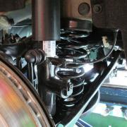 BMW/M135 スプリング交換