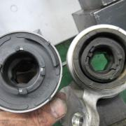 BMW/E46 サスペンション交換