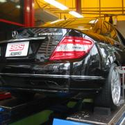 アライメント調整 BENZ/W204 BMW/E60