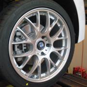 BMW/F30 タイヤホイール交換