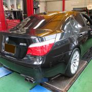 BMW/M5 タイヤ交換