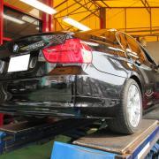 BMWマフラー交換