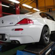 BMW/M6 ブッシュ交換