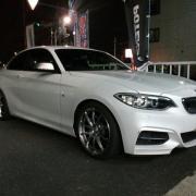 BMW M240i アラゴスタ装着