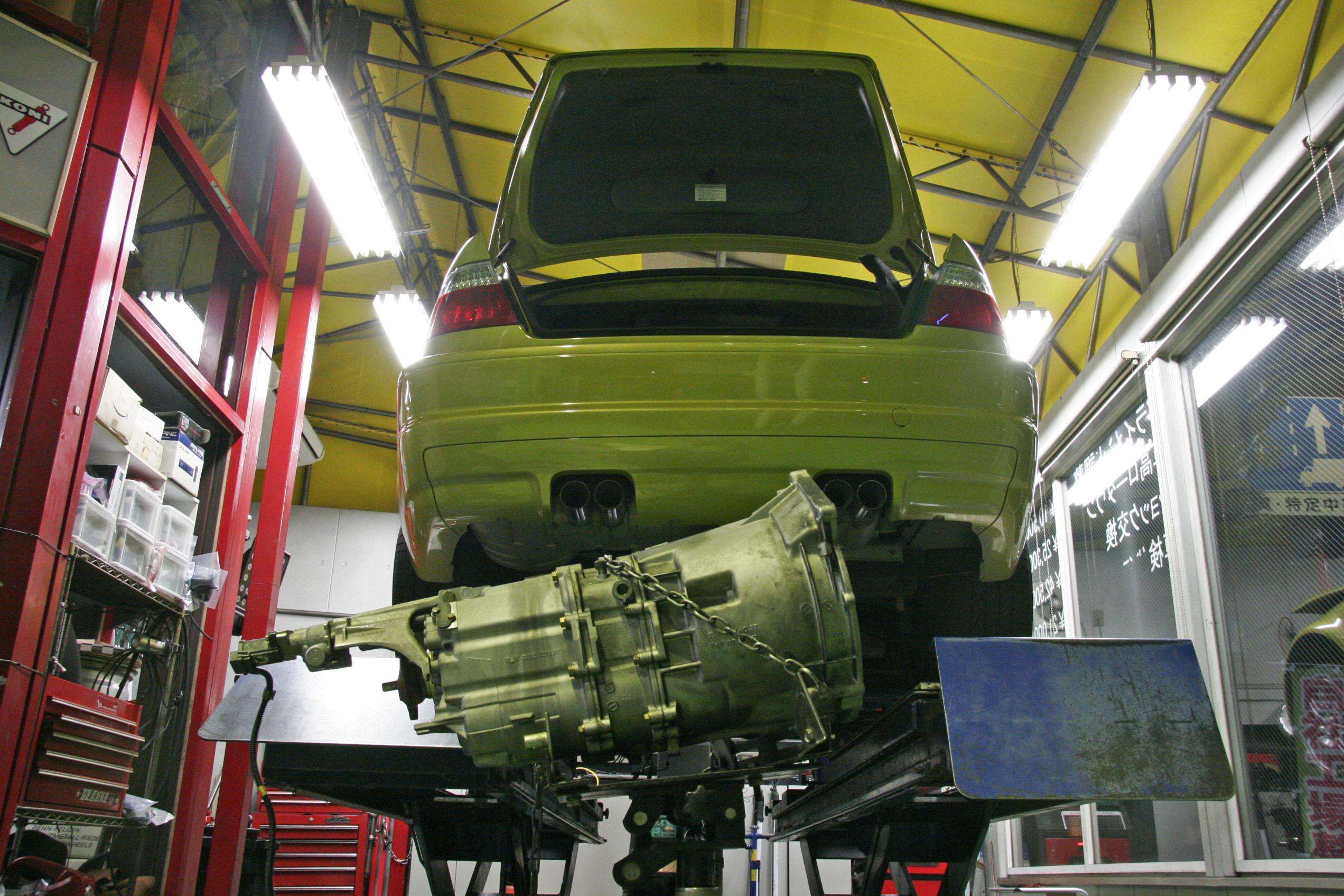 BMW E46/M3 SMG修理