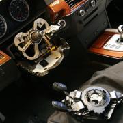 BMW E60/M5 舵角センサー交換&カーボンクリーン