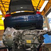 BMW E46/M3 SMG クラッチキット交換