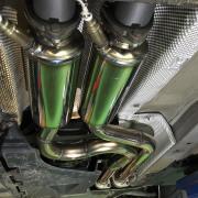 E46/M3 レーシングフロントパイプの実力