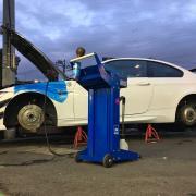 BMW E92/M3 DSC 修理