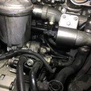 BMW E46/M3 CSL オイル漏れ