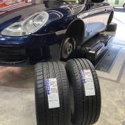 ポルシェ996 ミシュラン PS2 N3認証タイヤ