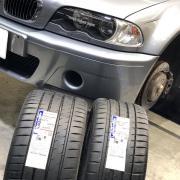 Michelin PS4S BMW E46M3 CSL