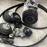BMW E92M3 エアコンのコンプレッサー交換など