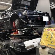 BMW E46M3 ハブベアリング交換など