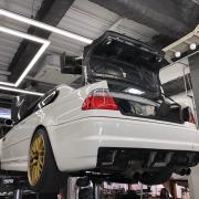 BMW E46M3 SMG 軽量フライホイール&クラッチ交換