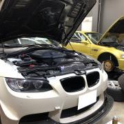 BMW E92M3 AP Racingキャリパーオーバーホールなど