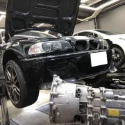 BMW E46 M3 CSL SMG不調修理