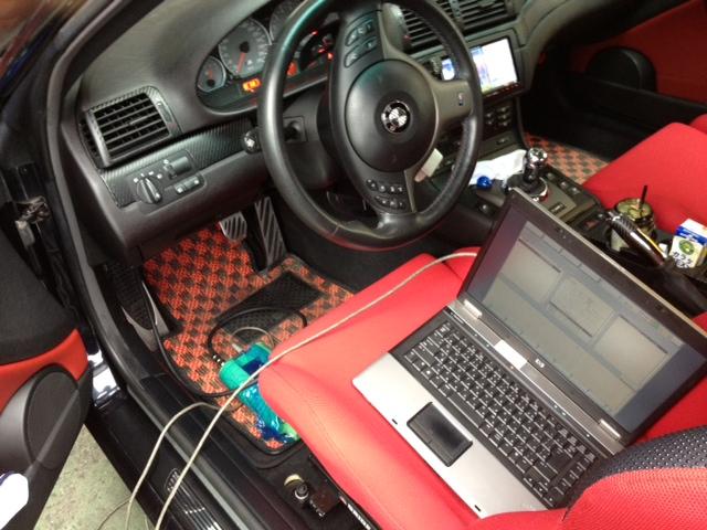 BMW E46/M3 SMG調整
