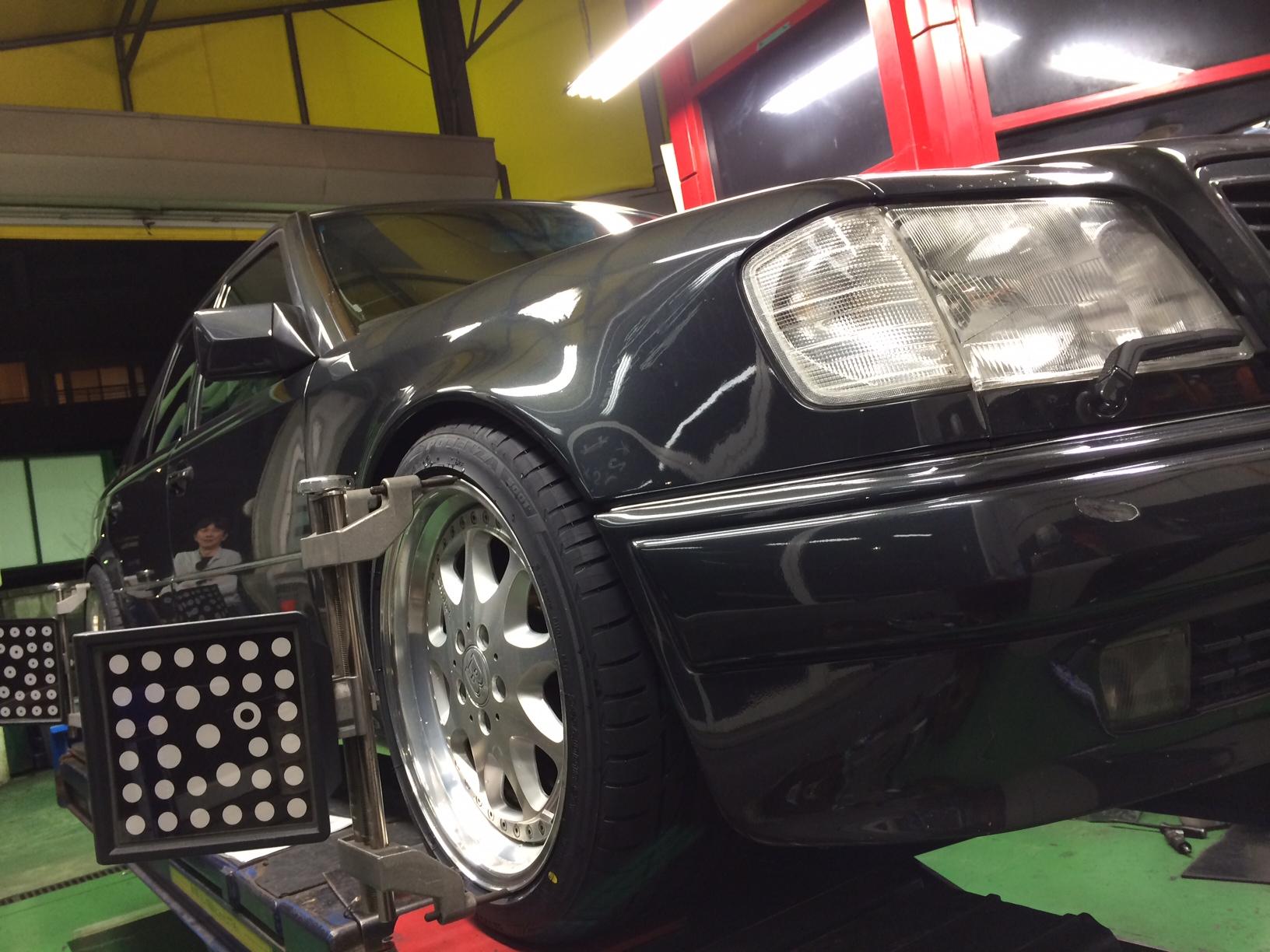 W124 メンテナンス