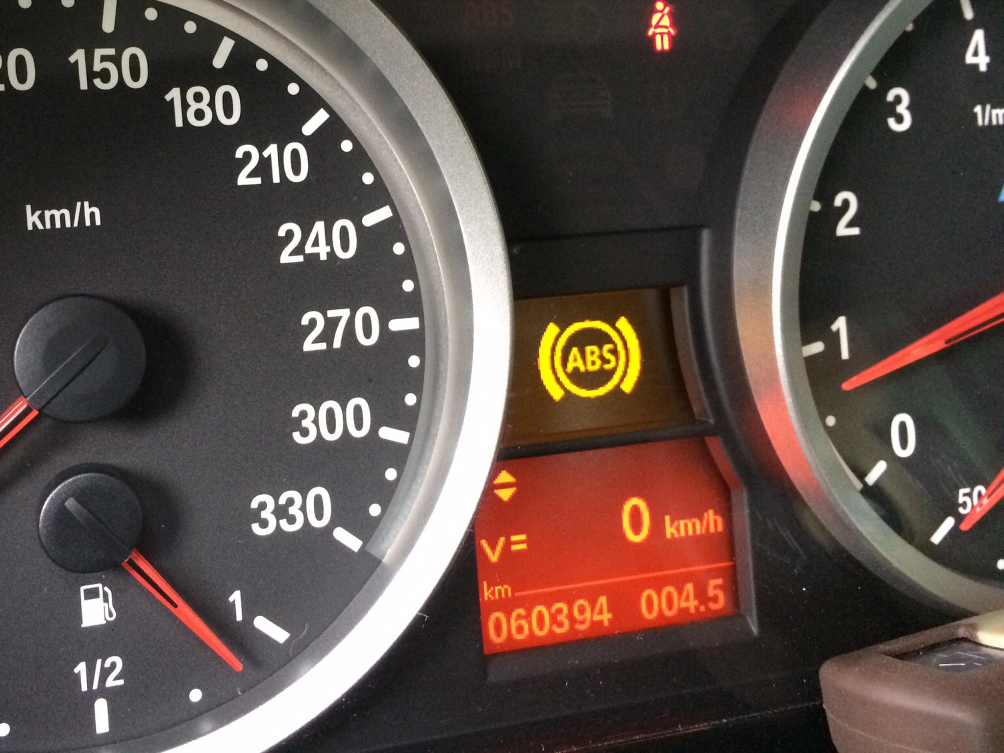 BMW E92/M3 DSC修理