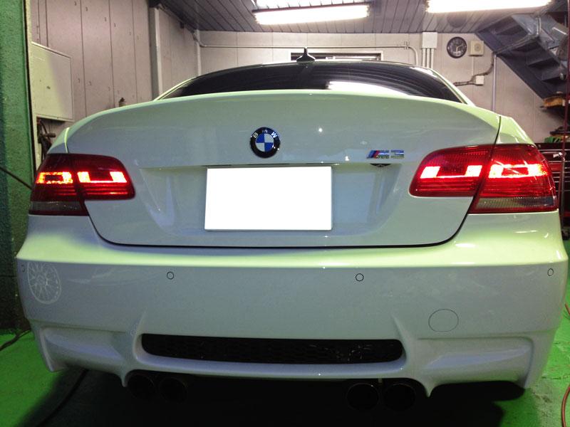 BMW E92/M3 カスタム開始!