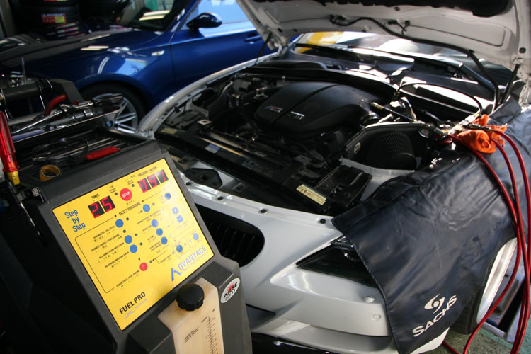 BMW E63/M6 カーボンクリーン