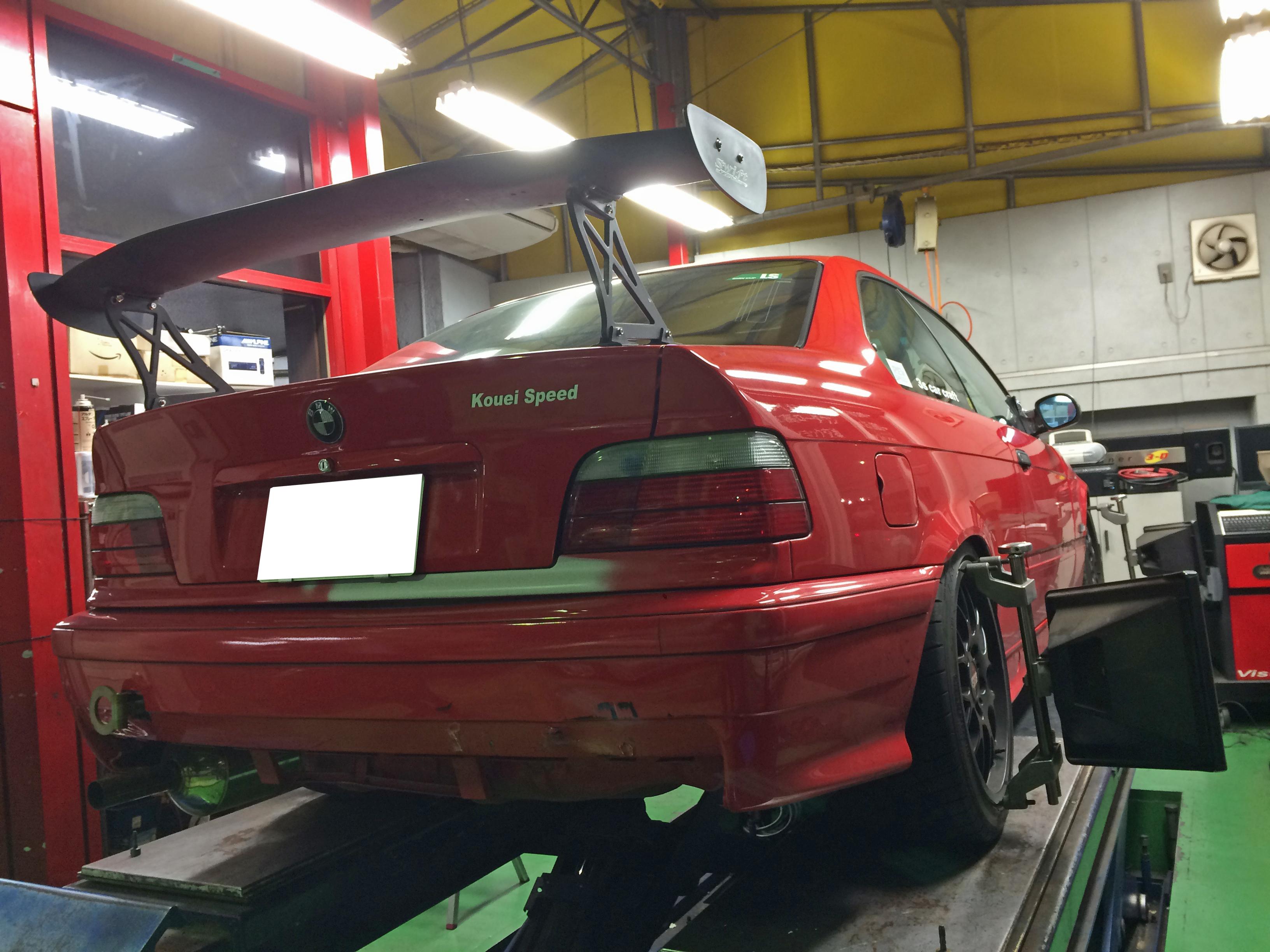 BMW CUPカーメンテ