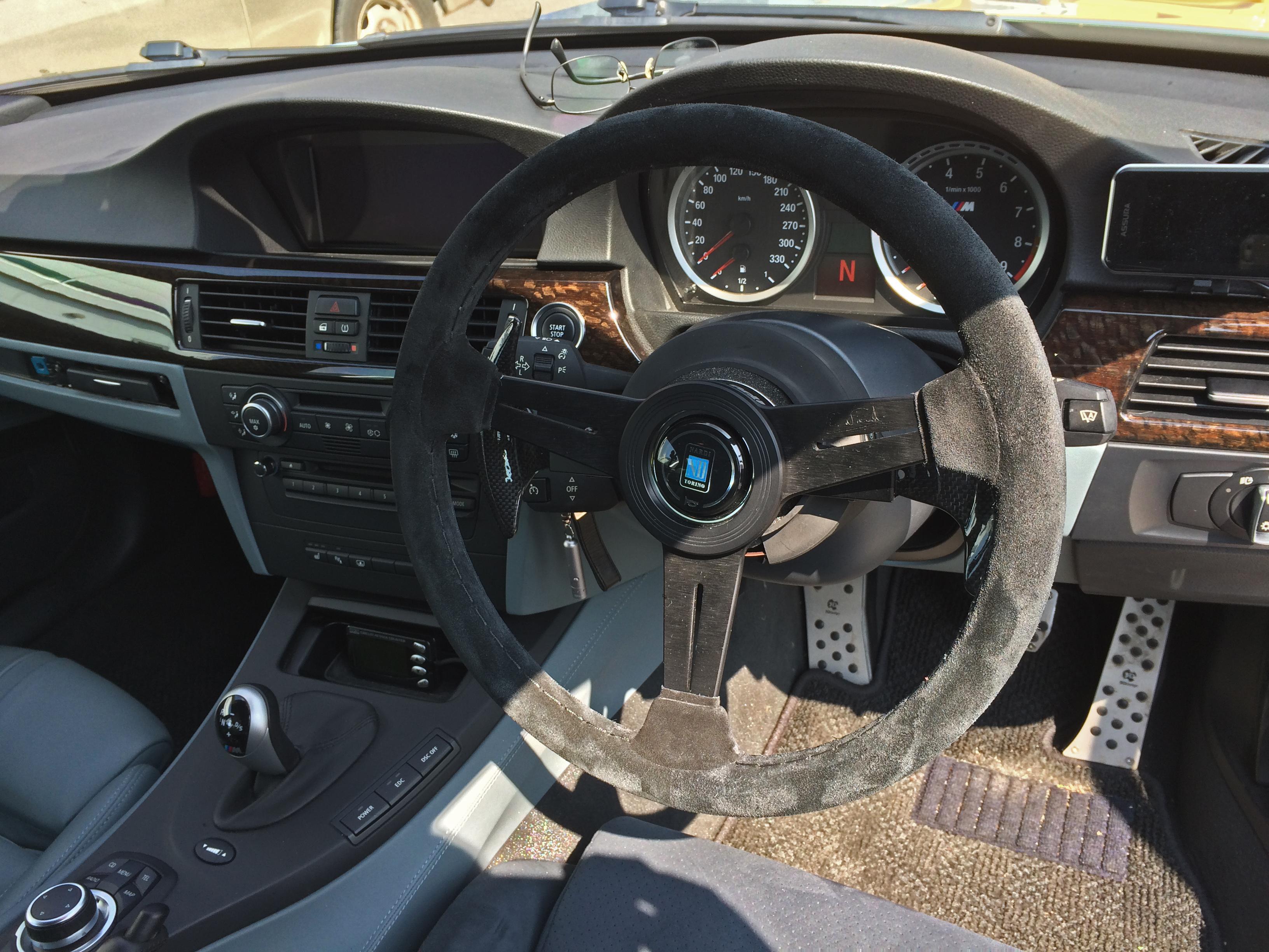 BMW E90/M3 DCT ステアリング&パドル交換