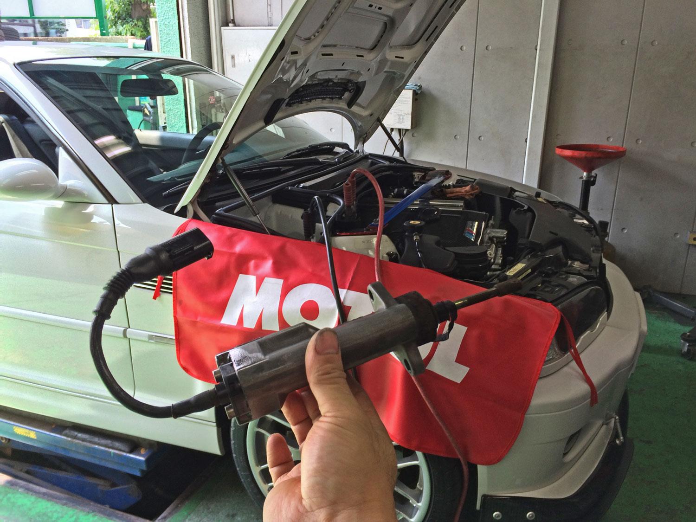 BMW E46/M3 アウトプットシリンダー交換