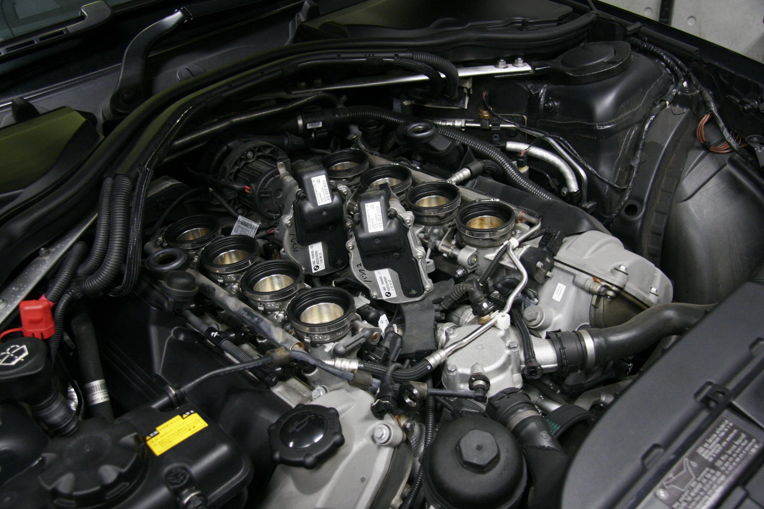 BMW E92/M3 スロットルアクチュエータ交換