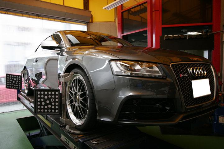 AUDI RS5& ポルシェ承認タイヤ