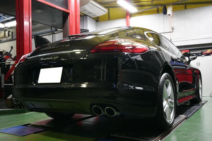 ポルシェ承認タイヤ パナメーラ4S
