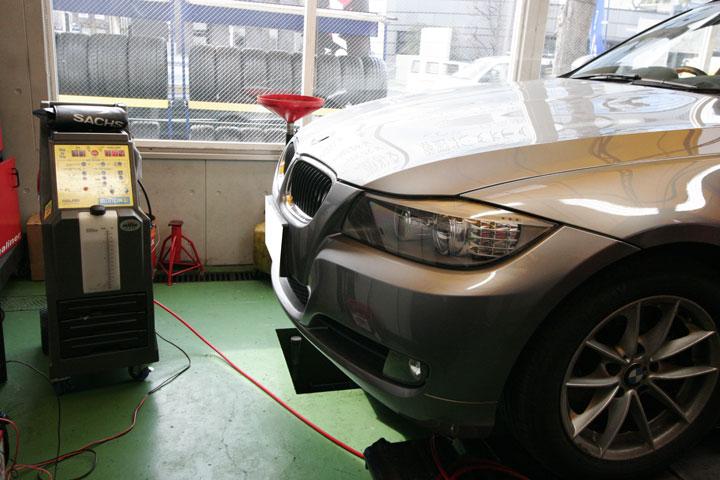 BMW E90/M3 コーディング&カーボンクリーン