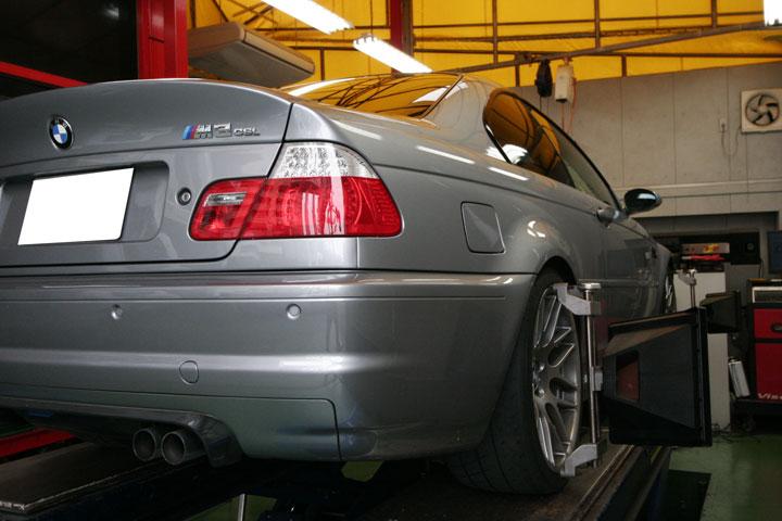BMW E46/M3 CSL メンテナンス