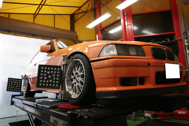 BMW E36/318is アライメント