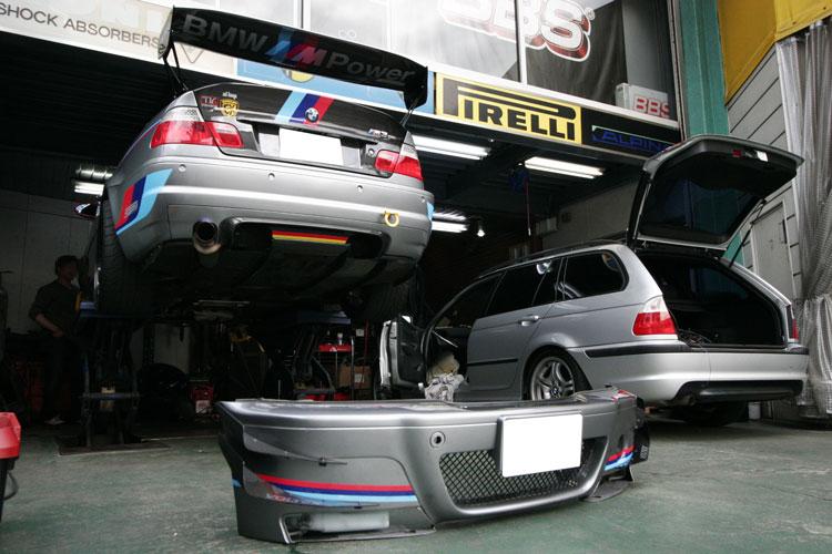 BMW E46/M3 CSL ブレーキダクト