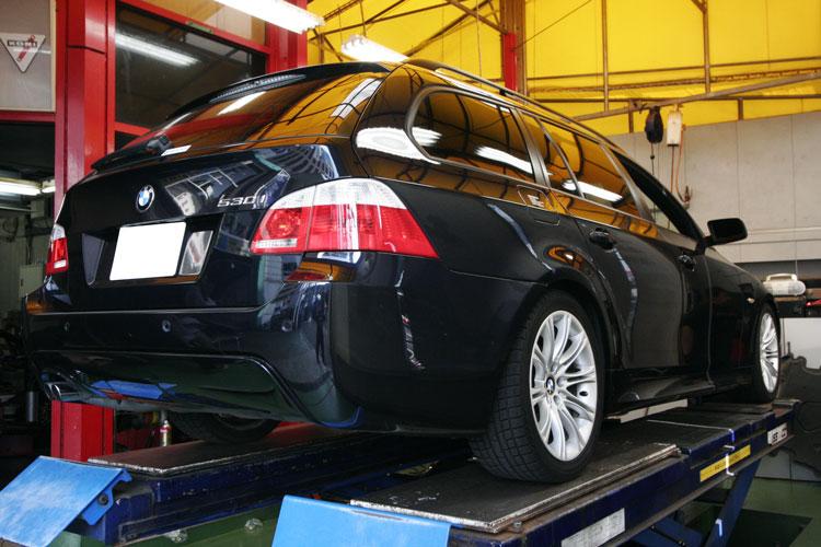 BMW E61/530ツーリング ローダウン