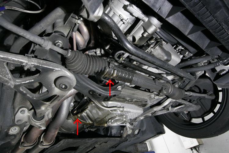 BMW E46/M3 オイル漏れ修理
