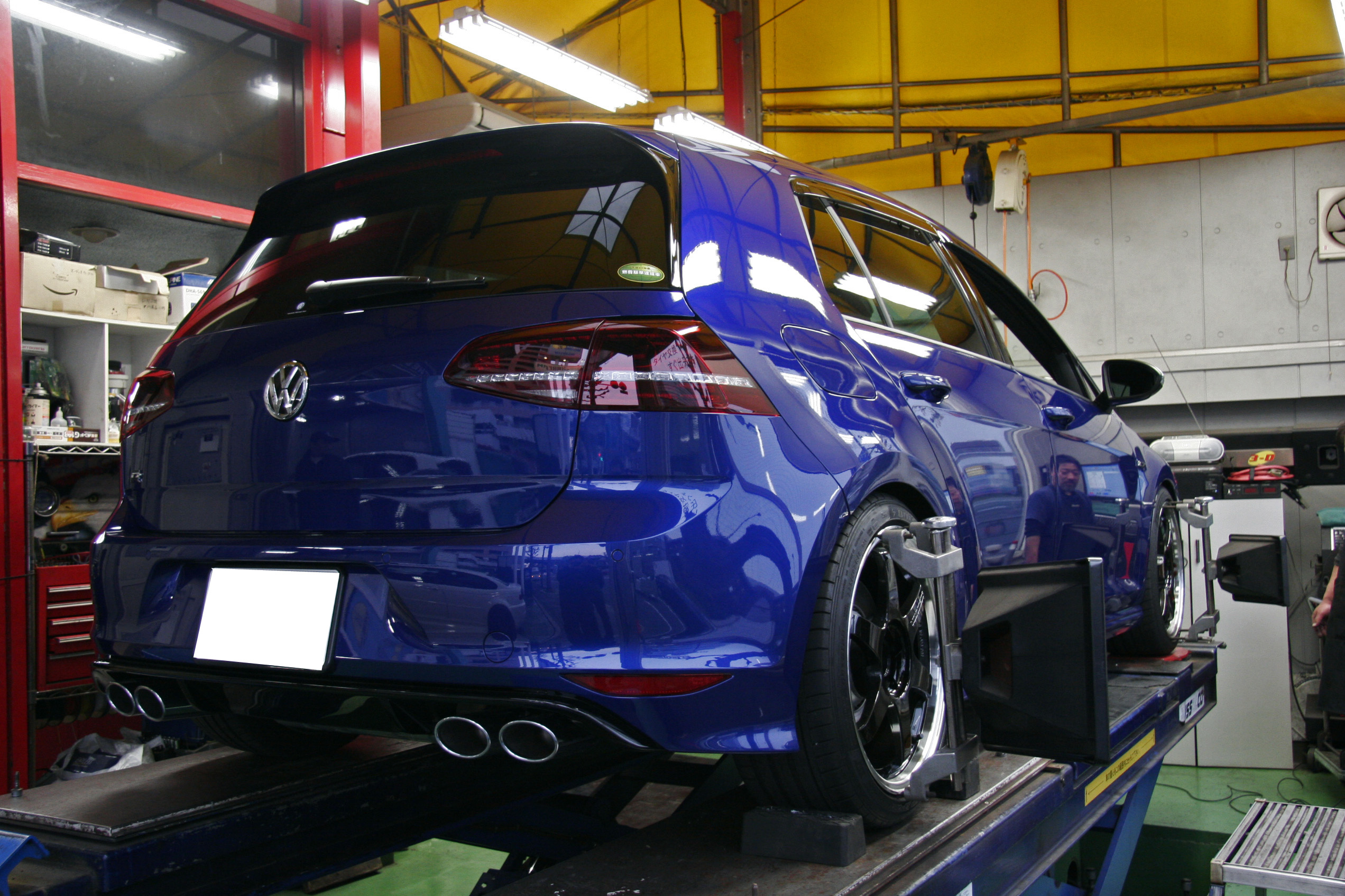 VW GOLF7R H&R
