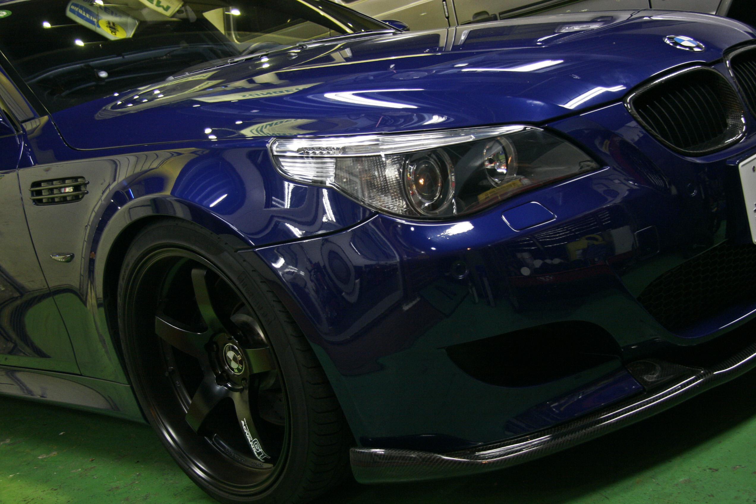 BMW E60/M5 クラッチトラブルシュート