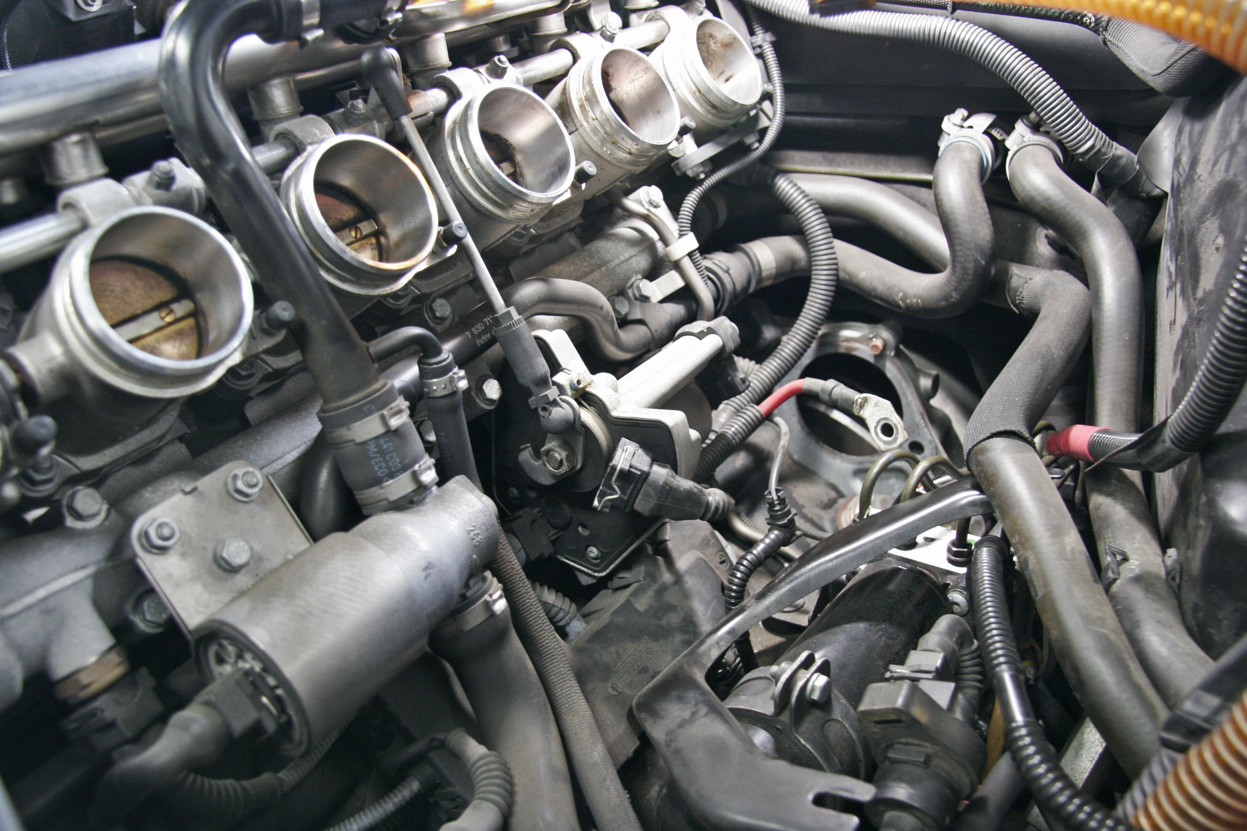 BMW E46/M3 CSL スターター交換
