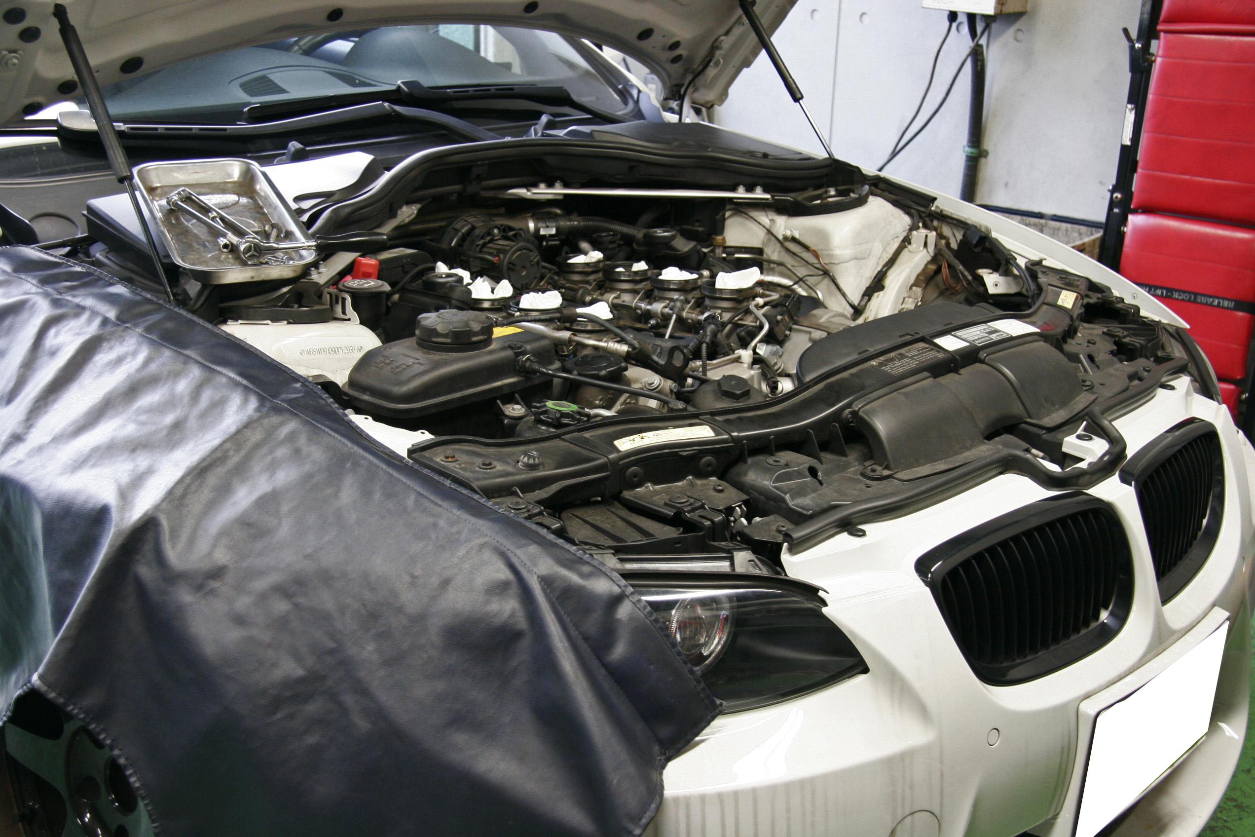 BMW E92/M3 アクチュエーター交換