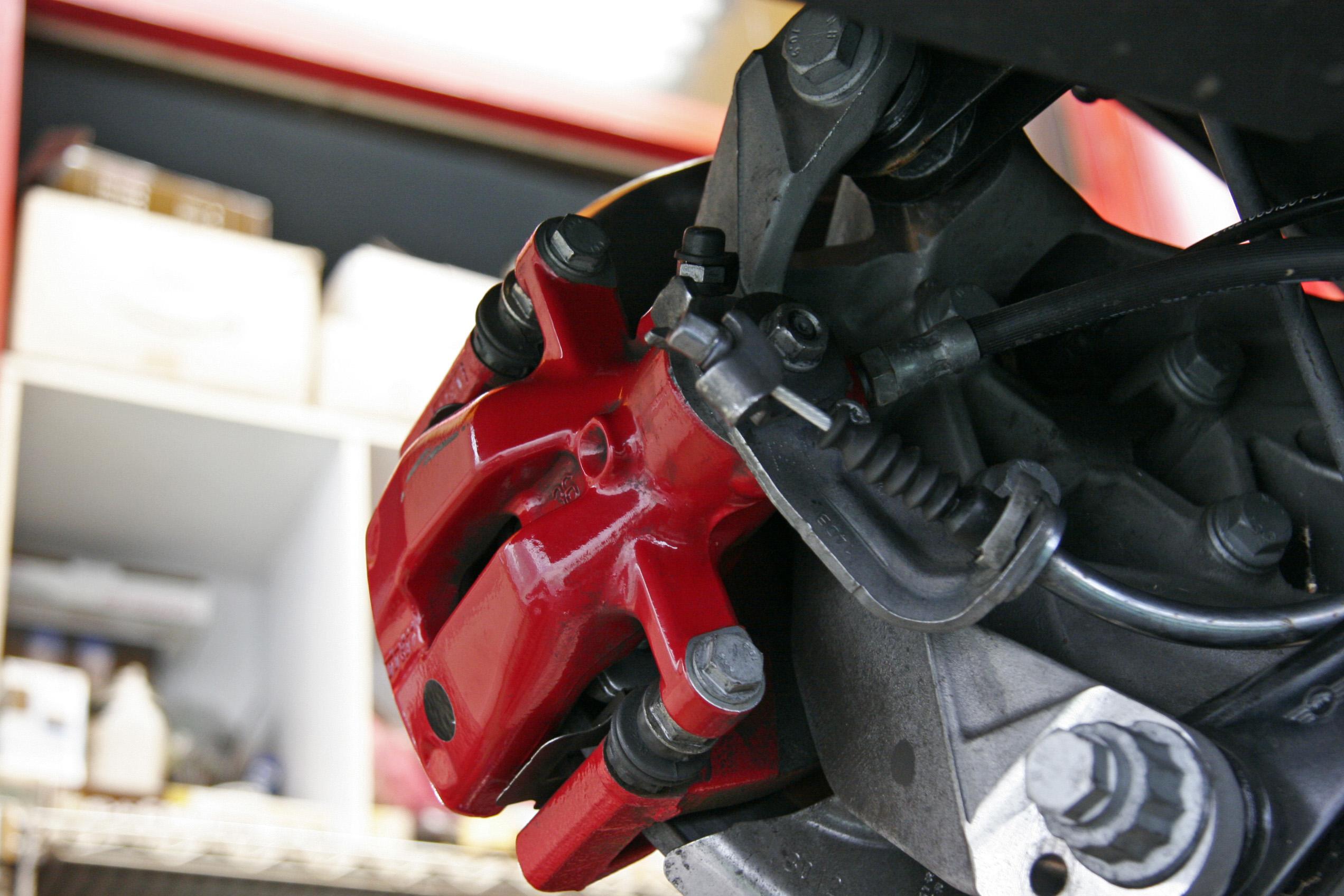 R56 MINI ブレーキ引きずり修理