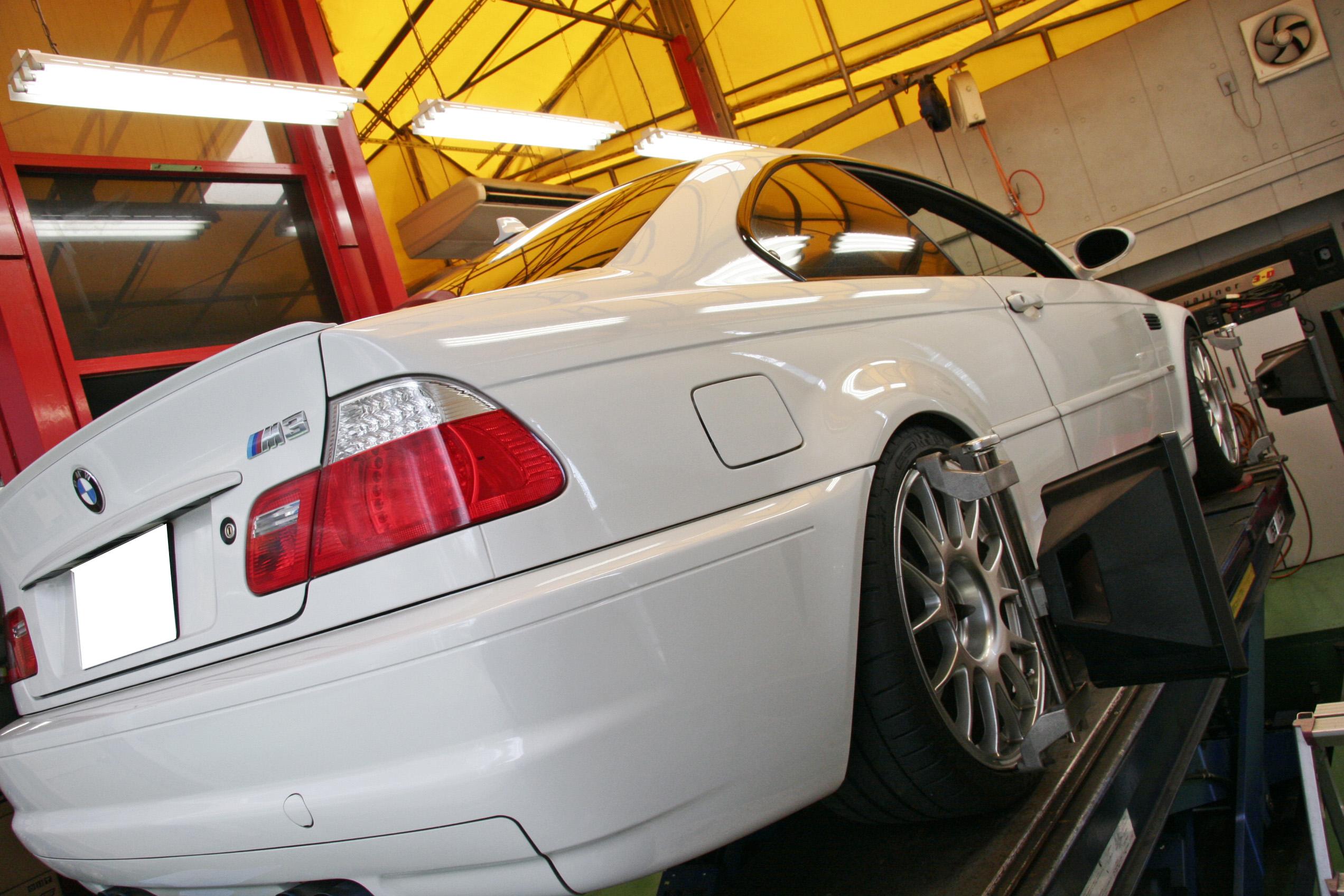 BMW E46/M3 バック時のミラー角度調整コーディング