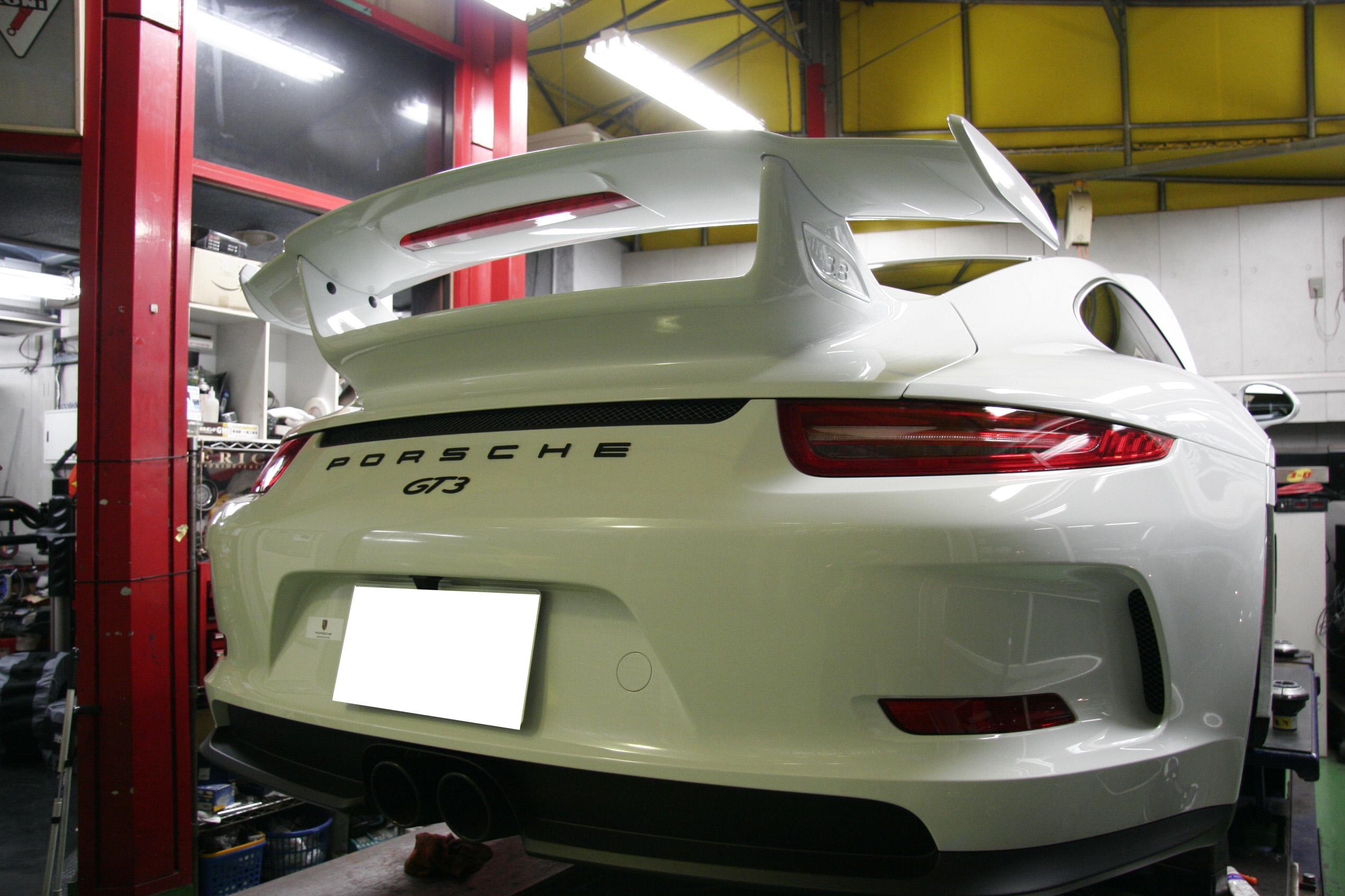 PORSCHE 991 GT3!!