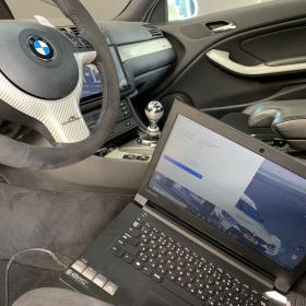 BMW E46M3 DME 実車チューニング&SMGⅡ コンプリートプログラム