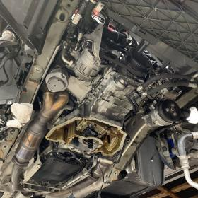 BMW E63 640 オイル漏れ修理