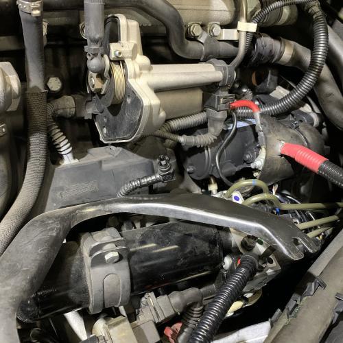 BMW E46M3CSL スターター交換